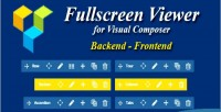 Composer visual fullscreen viewer