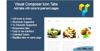 Composer visual icon tabs