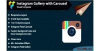 Composer visual instagram carousel with gallery