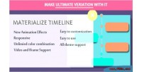 Composer visual materialize timeline