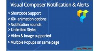 Composer visual notifications & popups