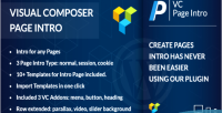 Composer visual page intro