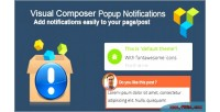 Composer visual popup notifications