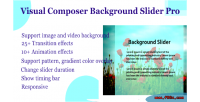 Composer visual pro slider background