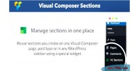 Composer visual sections