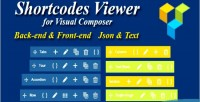 Composer visual shortcode viewer