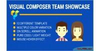Composer visual showcase profile team