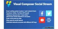 Composer visual social stream