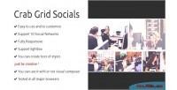 Composer visual socials grid extension