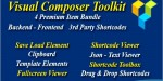Composer visual toolkit