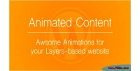 Content animated layers extension