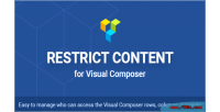 Content restrict composer visual for