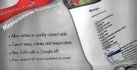 Conversion measurement wordpress plugin