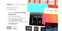Countdown soon pack plugin cornerstone responsive