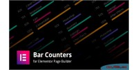 Counters bar addons builder for page elementor