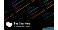 Counters bar addons for page wpbakery plugin wordpress builder