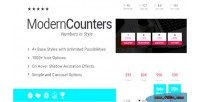 Counters modern addon for wpbakery builder page formerly composer visual