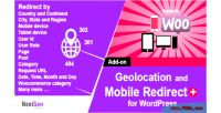 Country & mobile redirect addon wordpress for