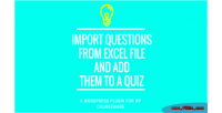 Courseware wp addon import excel