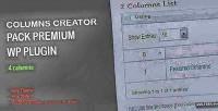 Creator columns pack plugin wp premium