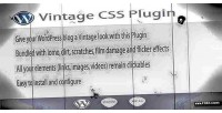 Css vintage wordpress plugin