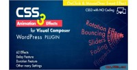 Css3 animation effects wordpress composer visual