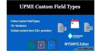 Custom upme field types