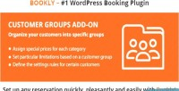 Customer bookly groups on add