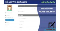 Dashboard userpro