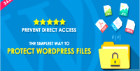 Direct prevent access files wordpress protect
