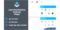 Easy layers widget shortcodes bootstrap
