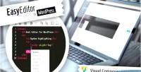 Editor easy for wordpress