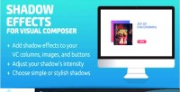Effects shadow composer visual for