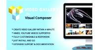 Elegant mega addons for visual composer module gallery video