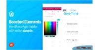 Elements boosted wordpress page add builder elementor for on