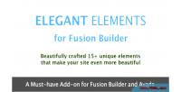 Elements elegant builder fusion for