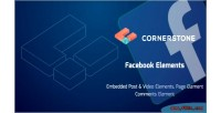 Elements facebook for cornerstone