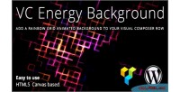 Energy vc background