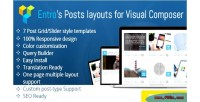 Entro s posts layout composer visual for