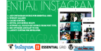 Essential instagram add on grid essential for