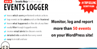 Events logger add on ninja security for