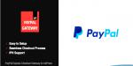 Express paypal checkout adpress for gateway