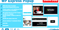 Express wp popup