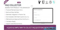 Faq collector addon for manager faq product