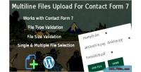 Files multiline upload 7 for form contact