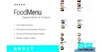 Food ultimate menu addon for page wpbakery builder formerly composer visual