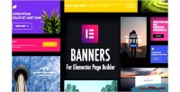 For banners builder page elementor