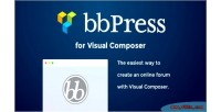 For bbpress visual composer