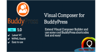 For buddypress visual composer