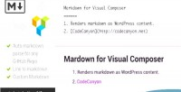 For markdown visual composer